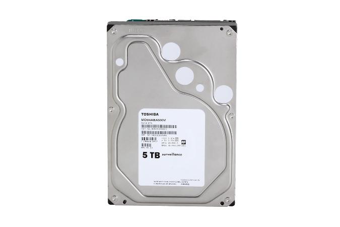 TOSHIBA搶先業界新發表!  容量5TB監控型硬碟MD04ABA-V系列  提供業界最高容量及最高能源效率使用