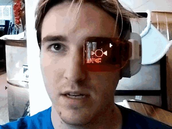 這個人真的把戰鬥力眼鏡做出來了,但是測不出你的戰鬥力