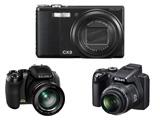 背照式CMOS相機當道:RICOH CX3、Fujifilm FinePix HS10、Nikon CoolPix P100