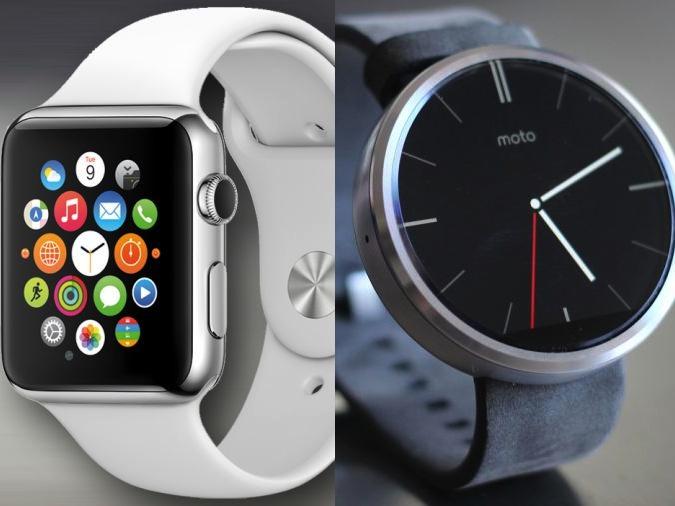方形還是圓形好?Apple Watch 與 moto 360 的顯示介面比給你看