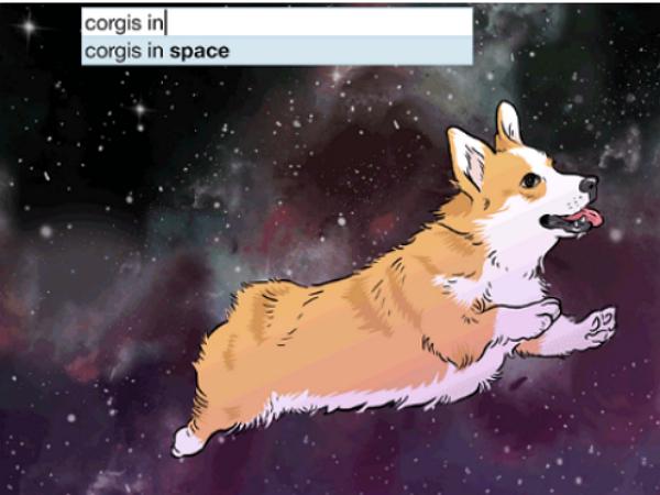 當你在 Google 搜尋上打出這些字,會跑出奇怪的搜尋建議