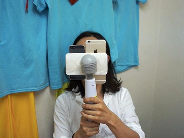 矛盾大惡搞:日本最強的按摩棒,對決 iPhone 6 Plus 動態影片防手震