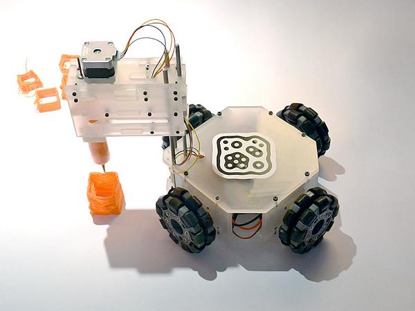 列印成品尺寸不受限,巴西大學開發移動式3D列印車 | T客邦