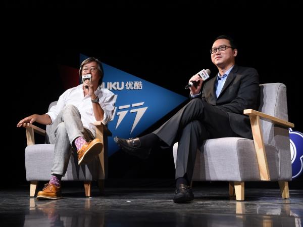 王偉忠 遇上 優酷總裁魏明:網路時代,每個人都是節目製作人