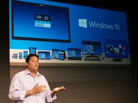 微軟發布下一版系統:Windows 10
