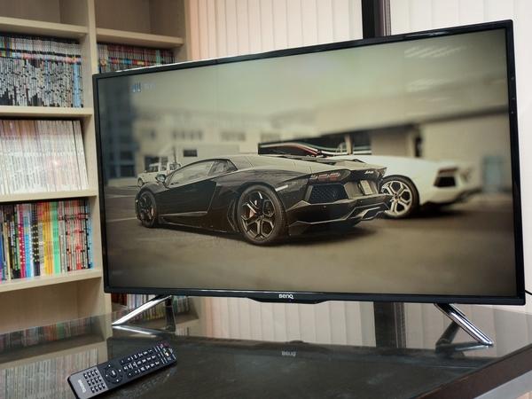 護眼科技導入大型液晶,BenQ 42RH6500 黑湛屏電視評測