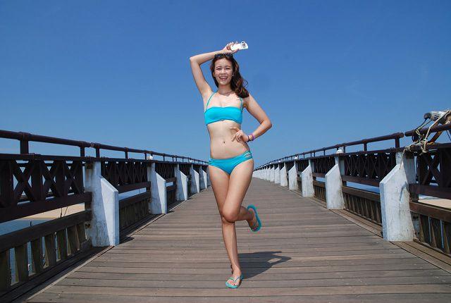 抓住夏天的尾巴,走!一起去海邊。 Samsung GALAXY K zoom 與 Emily  的一日輕旅行