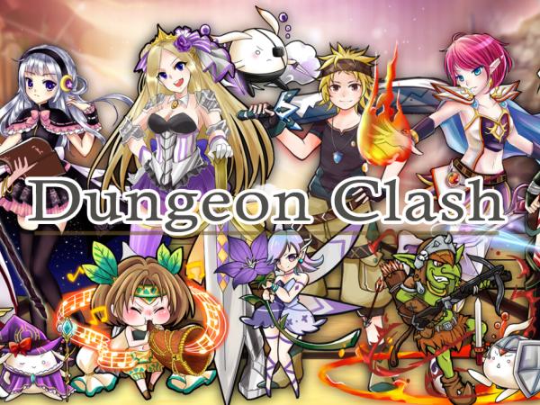 有腦自動戰鬥?戰略手遊《Dungeon Clash》公布核心玩法及群募計畫