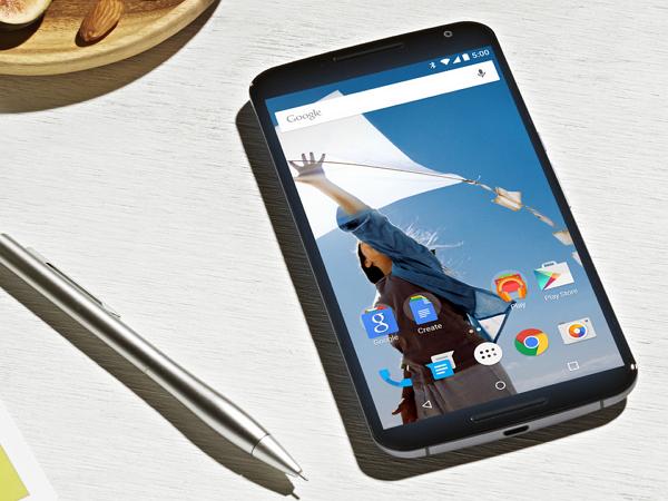 Google Nexus 6:6吋2K螢幕、1300萬畫素鏡頭,15分鐘快充可用6小時