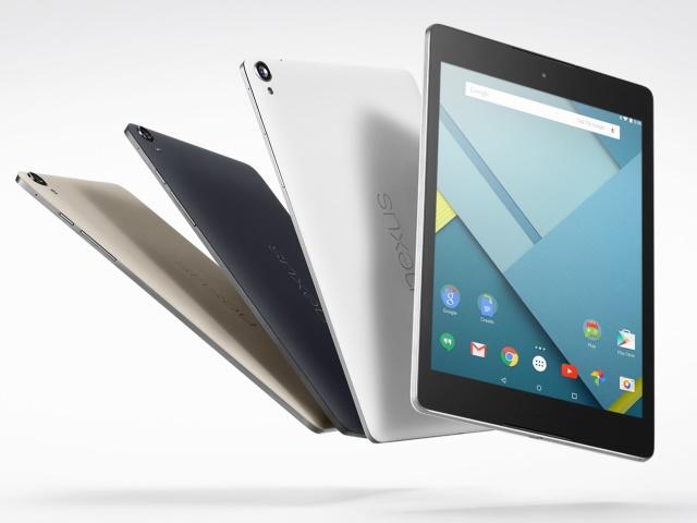 Google發表NEXUS 9,採用Android 5.0的強勢平板