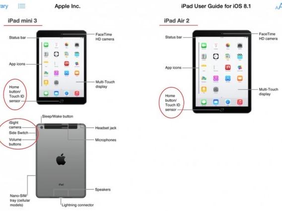 發佈前先預習:出現在 iTunes 官方頁面的 iPad Air 2 和 iPad mini 3 規格