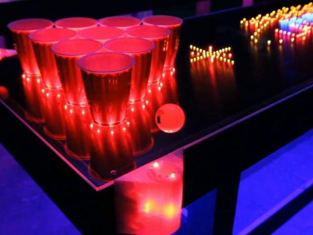 酒咖的浪漫,絢麗啤酒乒乓桌