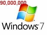 微軟:Windows 7熱賣9000萬份