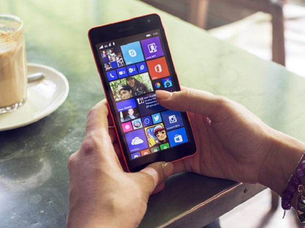 微軟發表首款同名 Lumia 手機 Microsoft Lumia 535
