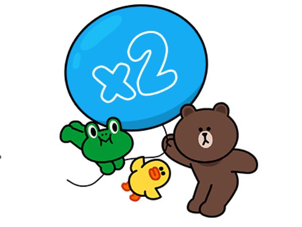 加LINE GAME官方帳號為好友,馬上獲得2週年特別版免費貼圖