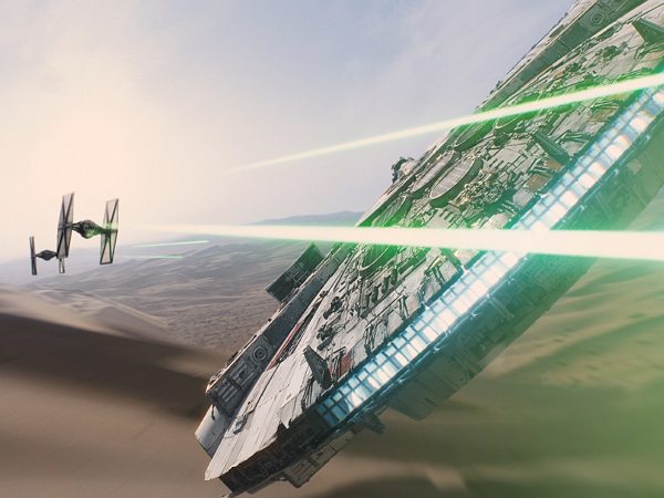「星際大戰:原力覺醒」預告才推出,就有強者拍出樂高版了