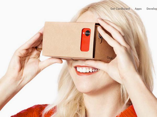 玩具玩出大生意,Google的厚紙板虛擬實境眼鏡賣出50萬台了!