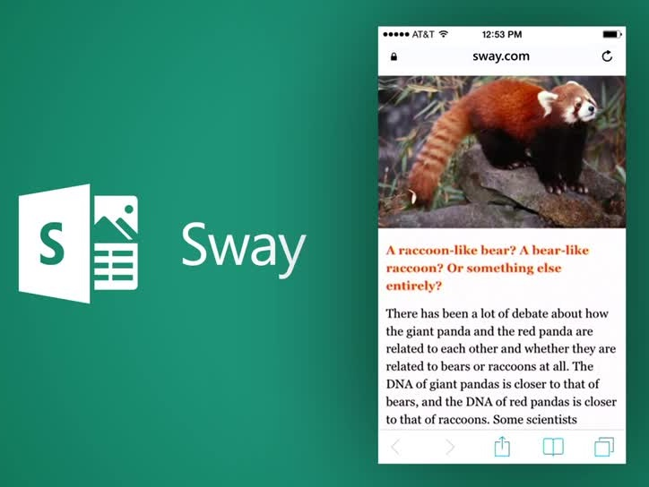 PPT 簡報太遜!微軟的 Office 圖文混搭新工具 Sway 動手玩 | T客邦