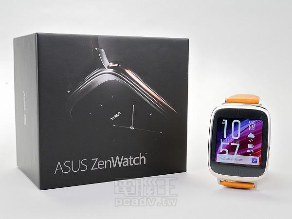 質感先決,Asus ZenWatch 智慧手錶開箱體驗