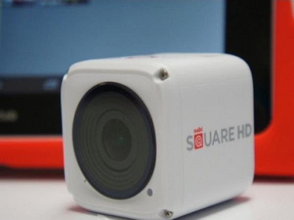 給孩子用的Nabi Square HD 4K骰子照相機,外觀也未免也太眼熟?