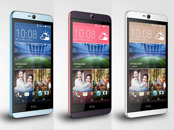 HTC Desire 826 發表:雙前置 BoomSound 音響、最快一月底上市