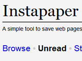 Instapaper,即時儲存網頁文章