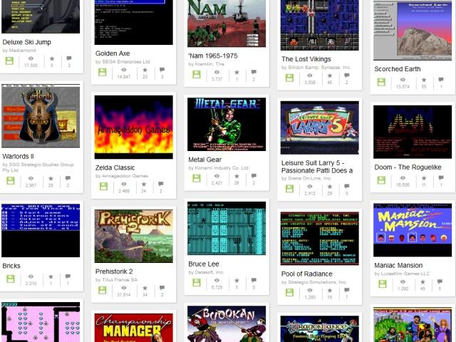 免裝軟體、免灌系統,打開瀏覽器免費重溫2300款DOS遊戲