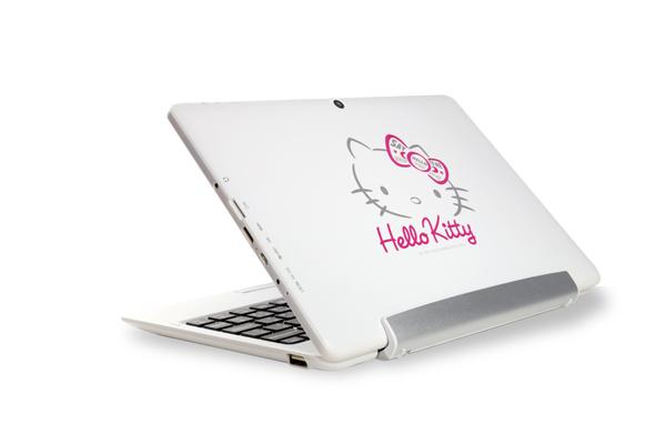 Hello Kitty平板電腦,1萬2有找, 捷元代理「GRACE 10」2in1平板電腦 超萌上市