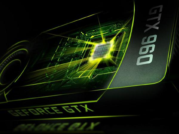NVIDIA GeForce GTX 960 解禁開賣,比 GTX 660 快 60%、功耗與溫度更低、支援 H.265 影片編解碼