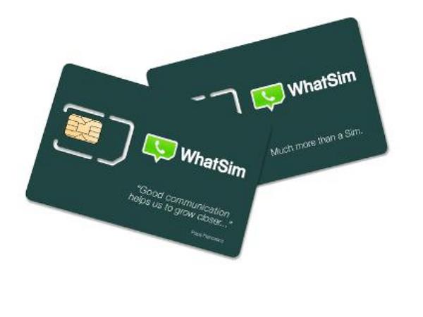 這張電話卡不能打電話,但在全球150個國家盡情WhatsApp只要年費台幣360元