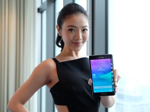 三星 Galaxy Note Edge 曲面螢幕手機在台登場,售價 28,900 元