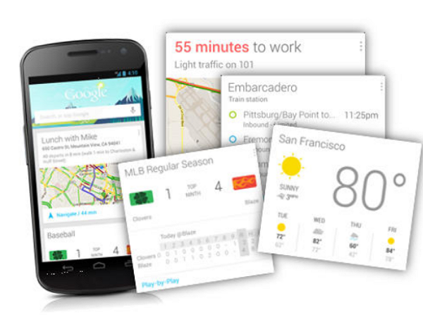 威力大增,Google Now的資訊卡片開始支援第三方廠商APP