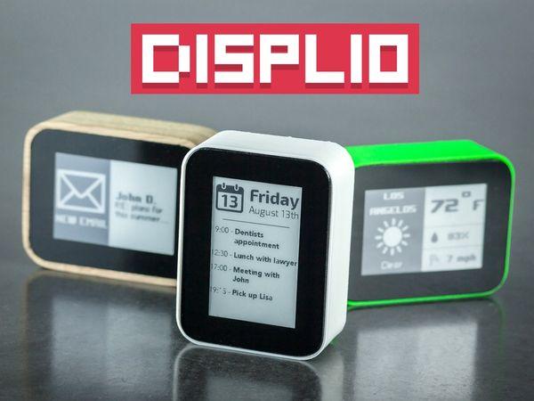 不用再分神找手機看通知,將手機 Widgets 實體化的 Displio 智慧小鬧鐘