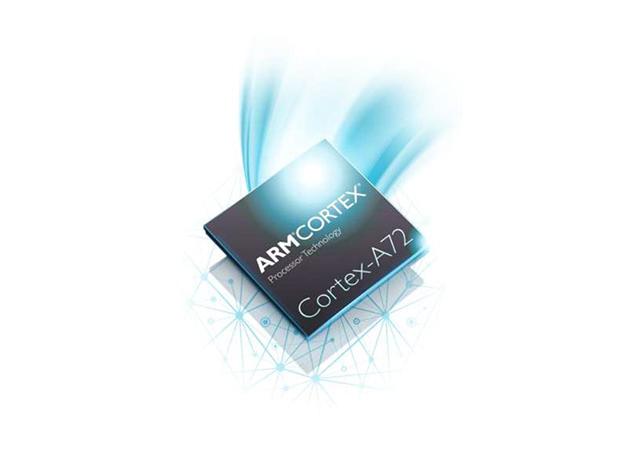 ARM Cortex-A72 新一代旗艦處理器核心,採用先進製程效能倍增、更省電