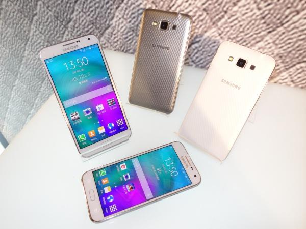 三星一次推三款大螢幕中階手機:Galaxy E5、E7、Grand Max ,售價均不到萬元