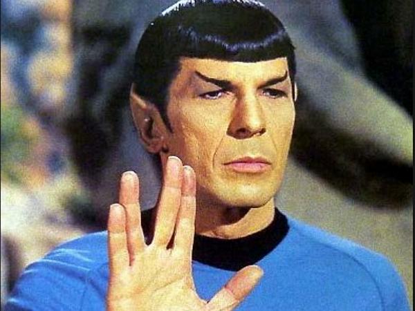別了,永遠的史巴克。Live long and prosper