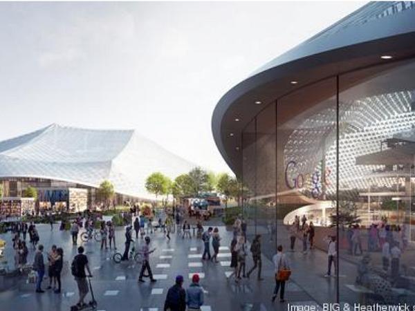 Google公布總部擴建計畫,無牆壁、天花板結構的可變形科技城