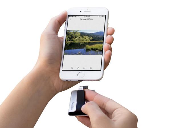 支援Lightning介面的隨身碟iXpand,讓iPhone也有外接碟