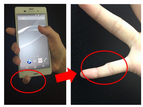 你握手機也是這樣握嗎?長期使用可能拇指變形!