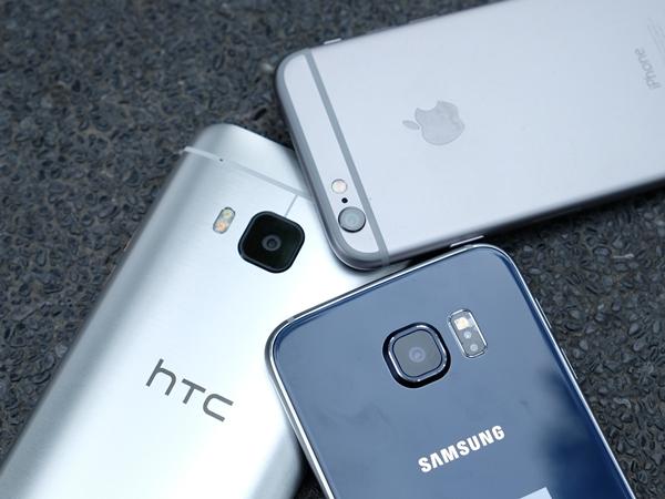 HTC One(M9)、三星 Galaxy S6、iPhone 6 拍照比一比