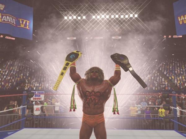 2K 宣布榮耀 WWE 名人堂巨星 Ultimate Warrior 的《WWE 2K15》故事取向內容現已推出
