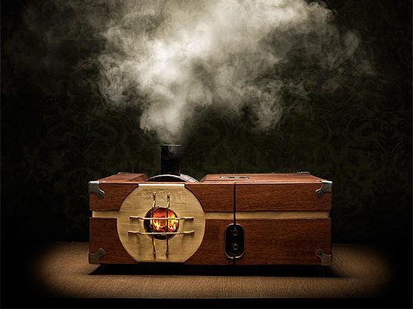 讓蒸汽與電腦共舞,Steam-Powered Gaming Cabinet 電競主機免插電,它需要的是水、煤炭、與一根火柴