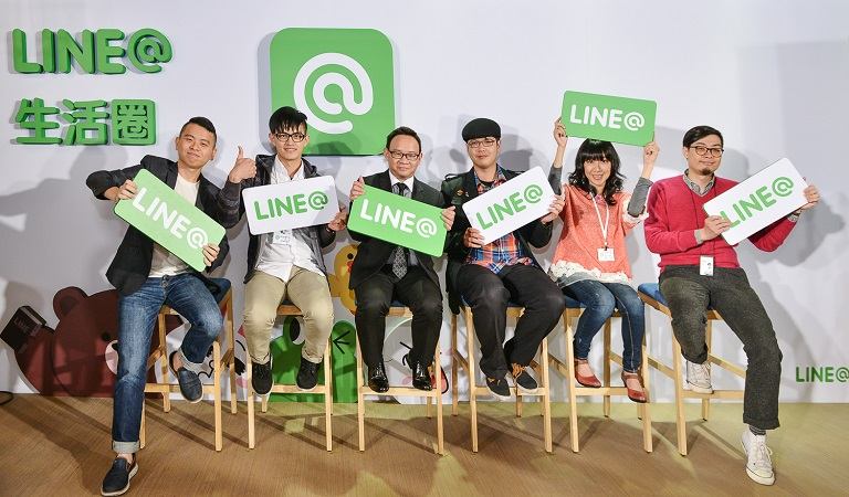 LINE@生活圈新版App,連小賣店商家與顧客都想綁在一起