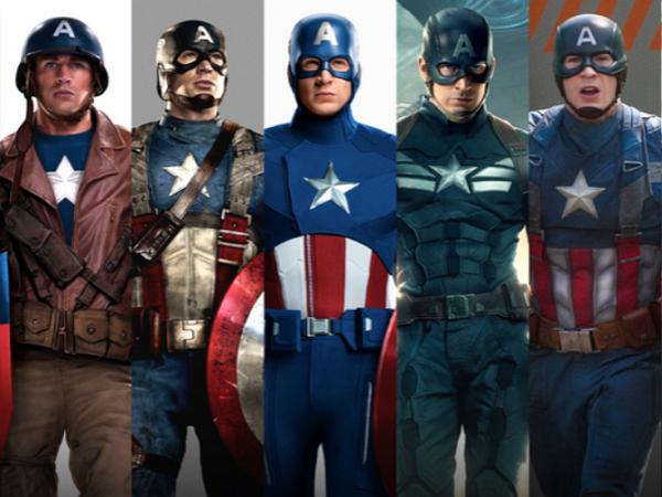 猜猜看,電影版美國隊長一共有幾件制服?