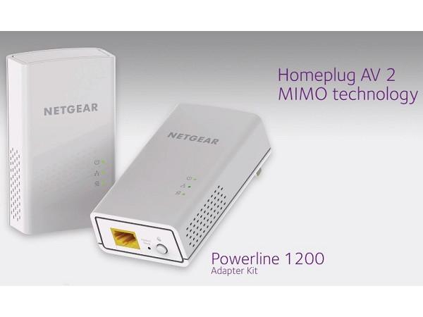 電力線競賽如火如荼,Netgear PL1200/PLP1200 理論速率也直上 1200Mbps