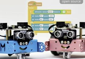 給小朋友學程式的機器人自走車mBot:如積木般易組裝,價格約台幣1600元