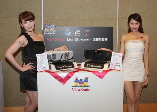ViewSonic光艦投影機上市發表&T客邦網友體驗會花絮