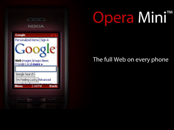 瀏覽器中的「異類」,Opera Mini 的10年簡史