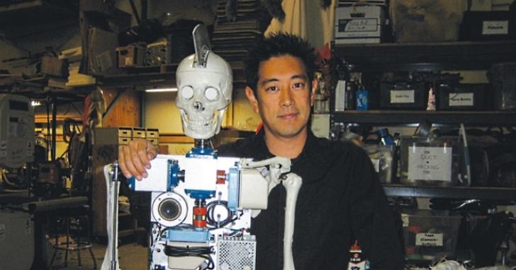 《流言終結者》格蘭‧今原,談他為電影設計的7個古怪機器人