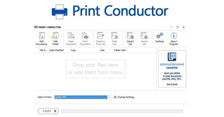利用《Print Conductor》輕鬆列印不同種類的檔案